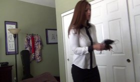 Amateur mommy Mindi Mink in a very taboo POV video in HD