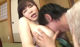 Silly teenaged asian girl gets busted during passionate masturbation