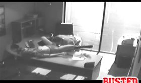 Fantastic gf sex where babe is slammed in beautiful office